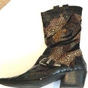 Shoes - Custom made cowboy boots